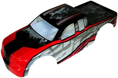B00E5L7QKM Redcat Racing Rampage Truck Body (1/5 Scale), Red 41RfctqkudL.