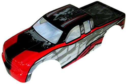 (Redcat Racing Rampage Truck Body (1/5 Scale), Red)