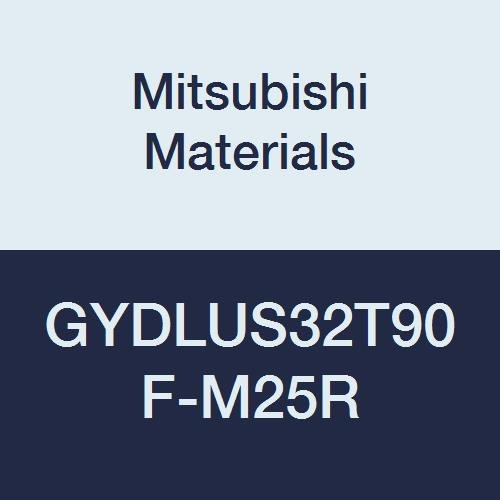 Mitsubishi Materials GYDLUS32T90F-M25R GY Series Modular Type Internal Grooving Holder with Right Hand M25 Modular Blade, Left Hand, 90° Angle, 3.25'' Neck, 2'' Height, 2'' Width, 12'' Length by Mitsubishi Materials