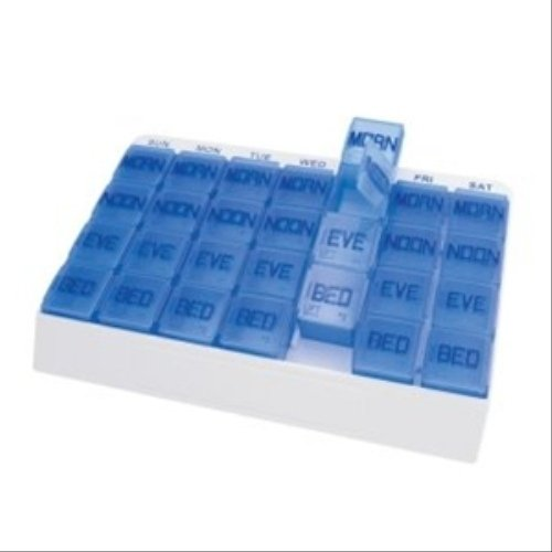 Large 7 Day Weekly Pill Organizer – Large 7 Day Weekly Pill Organizers – 70027PL70027PL, Health Care Stuffs