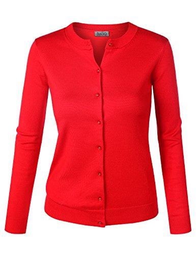 BIADANI Button Sleeve Cardigan Sweater product image