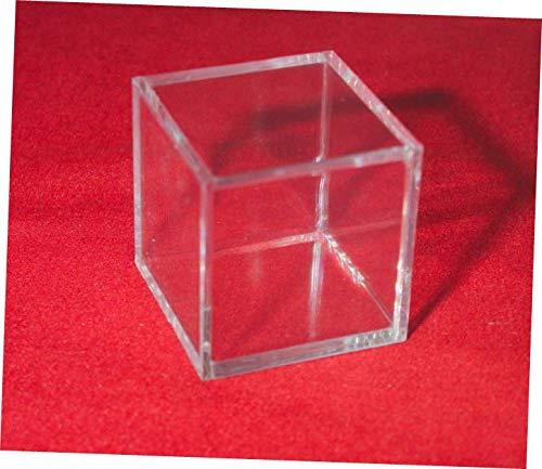 WEISSTORE New 1 Stackable Display Cube Holder Case for Ammonite Goniatite Meteorite Tektite - RK34