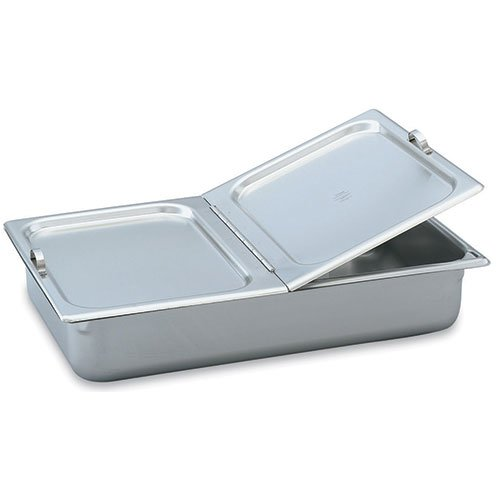 Vollrath 77430 Full Size Stainless Steel Flat Hinged Cover by Vollrath (Image #1)