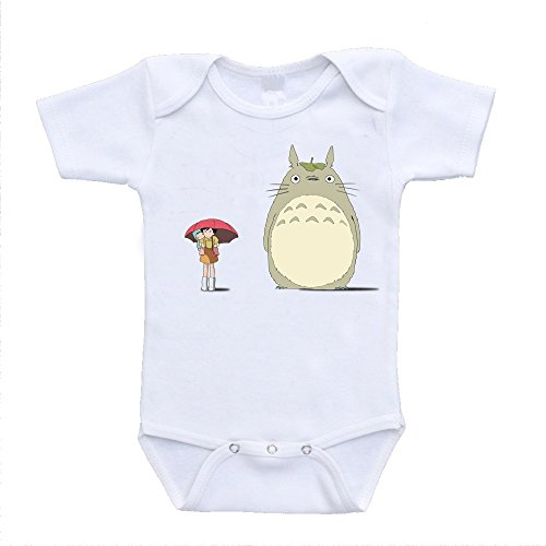 My Neighbor Totoro Baby Onesies Mei Graphic Cute Baby Bodysuits (6-9 Months)