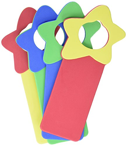 Darice Foamies Foam Door Hanger-Star-Primary Colors (1030-92) ()