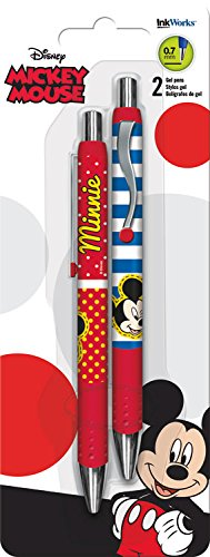 Trends International Disney Mickey & Minnie Mouse Gel Pens (2 Pack)