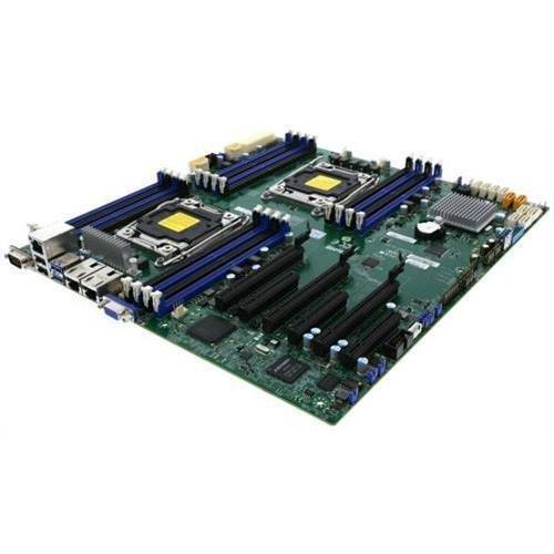 Super Micro Supermicro MBD-X10DRI-O LGA2011 E5-2600v3 C612 DDR4 PCI-Express SATA E-ATX Motherboard Retail (Super MicroMBD-X10DRI-O )
