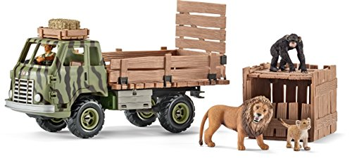 Truck Cartoon Animal Shelter : Schleich safari animal rescue truck play set import it all