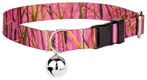 Image of Country Brook Petz | Pink Waterfowl Camo Featherweight Cat Collar