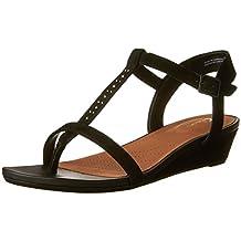 Clarks Women's Parram Blanc Flat Sandals