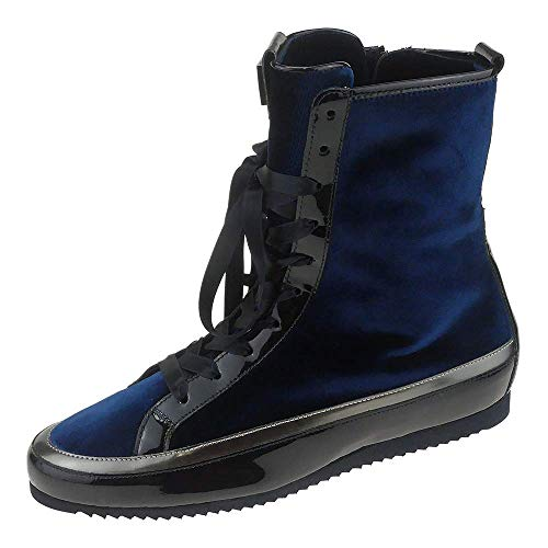 Blau 2326 Stivaletti 3 darkblue 3577 altsilber Högl Donna 10 wq6YEfISx