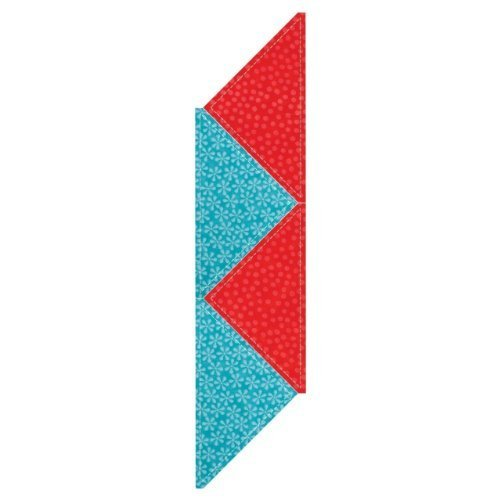 Accuquilt GO! quarter square - 8'' Finished Triangle - Use with GO! & GO! Baby - Item #55399 by AccuQuilt