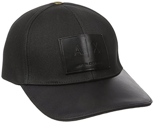 Armani Exchange AIX Logo Patch Trucker Full Back Hat Cap in Black BNWT & Certificate of - Armani Aix