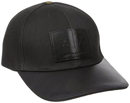 Armani Exchange AIX Logo Patch Trucker Full Back Hat Cap in Black BNWT & Certificate of - Aix Armani