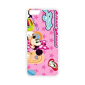 iPhone 6 Plus 5.5 Inch Cell Phone Case White Minnie Mouse 023 YWU9280305KSL