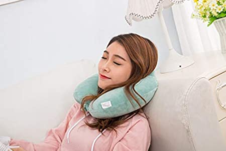 + Free Eye Cover VIENTO Frantic Comfort Neck Pillow My Heart Almost Stopped Because it was Very Cute ! RABIT