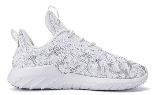 Fashion Glow soulsfeng Women Lining Shoes in Men Sneakers Casual Dark Fleece White Unisex Running Polar 4qZFIqw