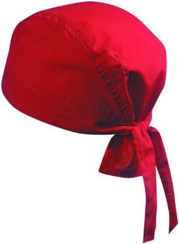 Myrtle Beach Bandana Kopftuch, Biker Hat, Piratentuch, 16 Farben Rot,1 St?ck