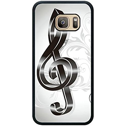 Minffc Unique With Black Energetic Notes Protective Case Cover For Samsung Galaxy S7 Sales