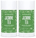 Schmidt's Natural Deodorant - Jasmine Tea 3.25 Oz Sensitive Skin Stick; Aluminum-Free Odor Protection & Wetness Relief (3.25 oz)