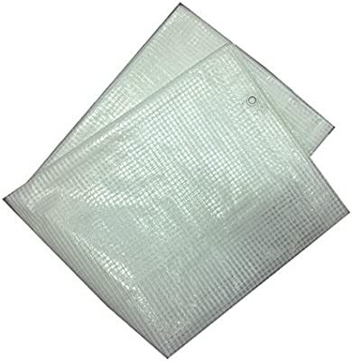3m x 4m Leno Tarpaulin Plastic Canopy Tarp PVC Sheet Waterproof Cover Heavy Duty