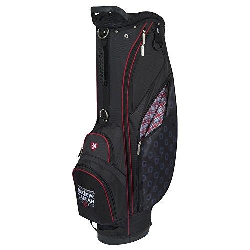 State Golf Stand - Team Effort Ohio State Buckeye Tartan Stand Bag
