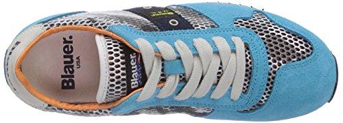 Blauer USA RUTH 1A - zapatilla deportiva de cuero mujer Turchese (823)