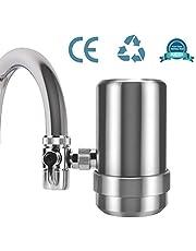 YJHome waterfilterkraan, RVS 304 drinkwaterfilter | Kraanfilter voor met filterpatronen Gezond premium waterfiltersysteem keukenaccessoires