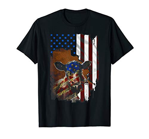 tattoos American flag cow, farmer, farming, cows, dairy cow]()