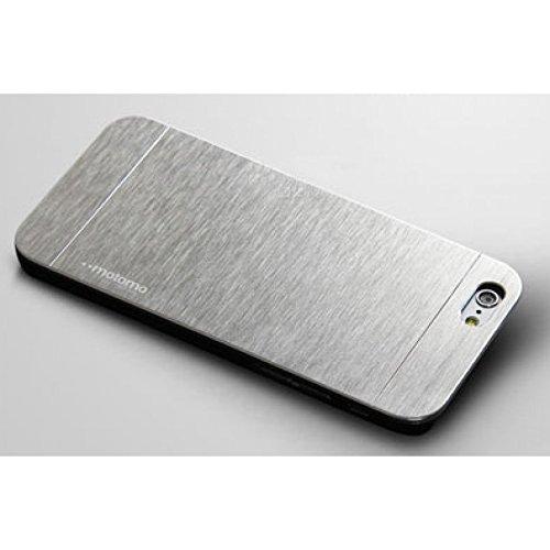 Sleek, Brushed Aluminum Case for iPhone 6 Plus - Fast Shipment from USA - Motomo (Refined Korean - Brushed Case Aluminum