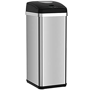 Amazon.com: halo 13 Gallon Touchless Trash Compactor Automatic ...