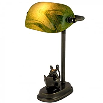 Pretty bankers table lamp with mouse 1428 amazon pretty bankers table lamp with mouse 1428 mozeypictures Image collections