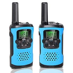 Techip Walkie Talkies for Kids, Walkie Talkies Two-Way Radios (Green)