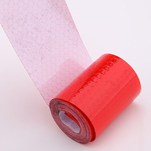 Awakingdemi 5300cm Car Reflective Tape Stickers Car Styling for Automobiles Safe Car Truck Motorcycle Cycling Reflectors (Red) by Awakingdemi (Image #5)