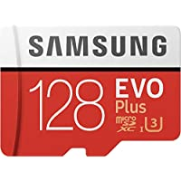 Samsung 128GB EVO Plus Class 10 Micro SDXC with Adapter...