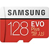 Samsung 128GB EVO Plus Class 10 Micro SDXC with Adapter