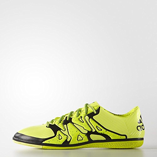 Image of the adidas Performance Men's X 15.3 in Soccer Shoe, Solar Yellow/Core Black/Frozen Yellow F15, 8.5 M US