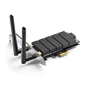 TP-Link Archer AC1300 WiFi Card PCIe Adapter with Heatsink Technology (T6E)
