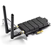 TP-Link Archer T6E AC1300 PCIe Wireless WiFi network Adapter Card for PC , with Heatsink Technology