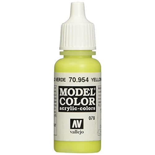 Vallejo Modèle Couleur 17ml Arylic Peinture–Jaune Vert FS 30160