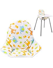 Twoworld High Chair Cushion for IKEA Antilop Highchair, Baby High Chair Seat Cover Liner Mat Pad Cushion for IKEA Antilop High Chair (Animal Pattern)