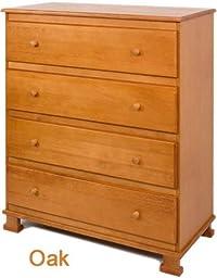 Davinci 4-Drawer Dresser, Oak