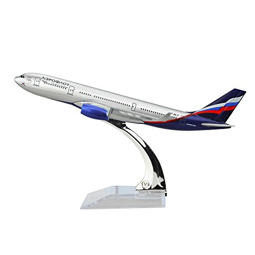 The Russian International Airlines Aeroflot-Russian Airlines Airbus A330 Airplane Models