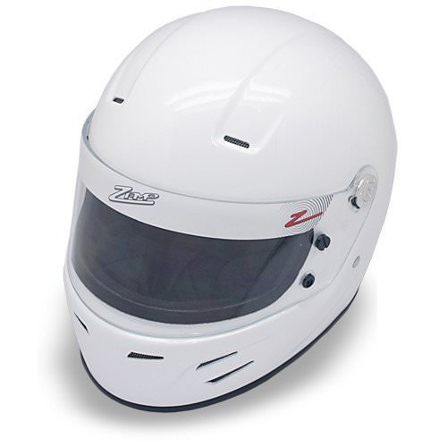 Zamp FSA-3 Auto Full Face Snell SA2015 Helmet White X-Large
