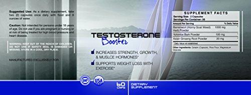 Extreme Testostérone De AXX Nutrition - Strongest formule sur le marché 100% naturel, stimule énergie de la jeunesse, la masse musculaire et la perte de graisse - une pleine Supply mois - Complètement garanti par AXX Nutrition
