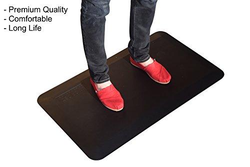 Uncaged Ergonomics Thick Premium Anti-Fatigue Cushion/Com...