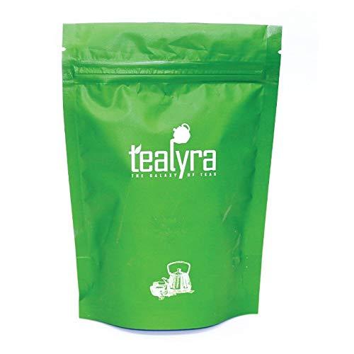 Tealyra - Climber's High - Roasted Yerba Mate - Pu'erh - Green - White Loose Tea - Ginger - Ginseng - Healthy - Immun Booster Blend - Bold Caffeine - All Natural - 112g (4-ounce)