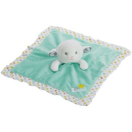 Garanimals - 14'' Newborn Baby Lamb Snuggle Plush with Security Blanket - The Soft Toy Has a Rattle Feature For Sound Stimulation