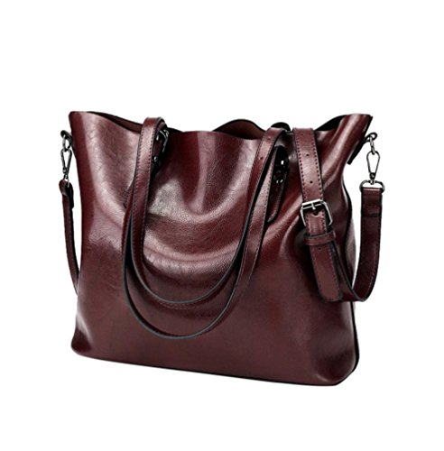 Bag Handbag Women LILYYONG Bag Bag red Shoulder Bucket Tote Crossbody Bag oxblood S0qpqZX