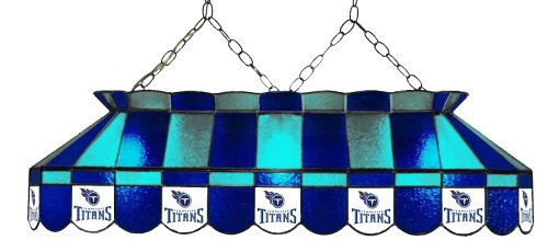(Imperial Officially Licensed NFL Merchandise: Tiffany-Style Stained Glass Billiard/Pool Table Light, Tennessee Titans)